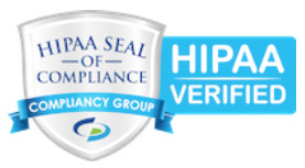 HIPAA Seal of Compliance from Compliancy Group